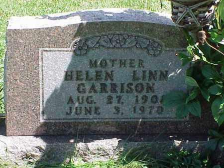 GARRISON, HELEN LINN - Richland County, Ohio | HELEN LINN GARRISON - Ohio Gravestone Photos