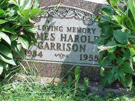 GARRISON, JAMES HAROLD - Richland County, Ohio | JAMES HAROLD GARRISON - Ohio Gravestone Photos