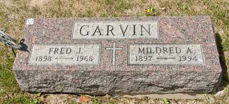 GARVIN, MILDRED A - Richland County, Ohio | MILDRED A GARVIN - Ohio Gravestone Photos