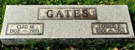 GATES, CLEO M - Richland County, Ohio | CLEO M GATES - Ohio Gravestone Photos