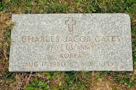 GATES, CHARLES JACOB - Richland County, Ohio | CHARLES JACOB GATES - Ohio Gravestone Photos