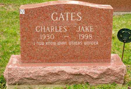 "GATES, CHARLES ""JAKE"" - Richland County, Ohio 
