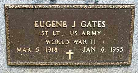 GATES, EUGENE J - Richland County, Ohio | EUGENE J GATES - Ohio Gravestone Photos
