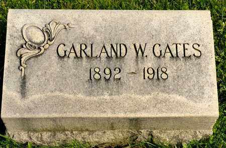 GATES, GARLAND W - Richland County, Ohio | GARLAND W GATES - Ohio Gravestone Photos