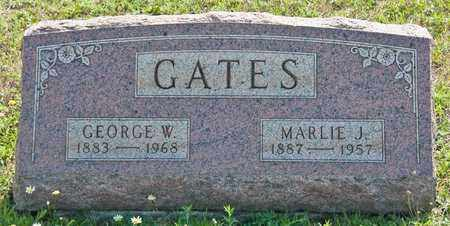 GATES, MARLIE J - Richland County, Ohio | MARLIE J GATES - Ohio Gravestone Photos