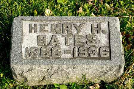 GATES, HENRY H - Richland County, Ohio | HENRY H GATES - Ohio Gravestone Photos