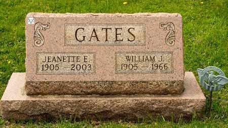 GATES, WILLIAM J - Richland County, Ohio | WILLIAM J GATES - Ohio Gravestone Photos