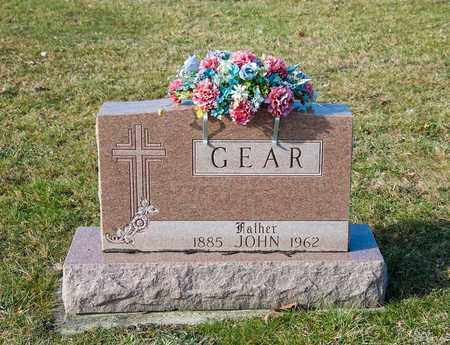 GEAR, JOHN - Richland County, Ohio | JOHN GEAR - Ohio Gravestone Photos