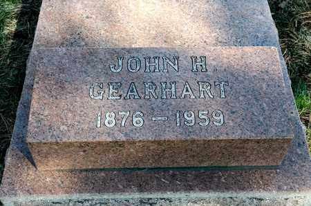 GEARHART, JOHN H - Richland County, Ohio   JOHN H GEARHART - Ohio Gravestone Photos