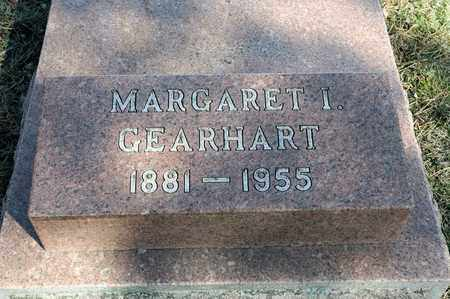 GEARHART, MARGARET I - Richland County, Ohio | MARGARET I GEARHART - Ohio Gravestone Photos