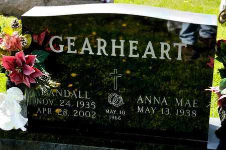 GEARHEART, RANDALL - Richland County, Ohio | RANDALL GEARHEART - Ohio Gravestone Photos