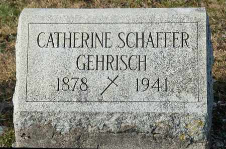 GEHRISCH, CATHERINE - Richland County, Ohio | CATHERINE GEHRISCH - Ohio Gravestone Photos