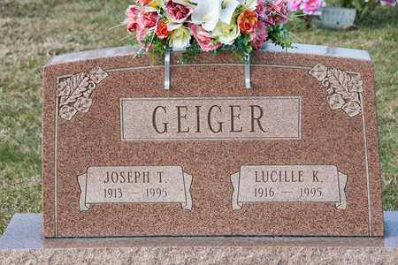 GEIGER, LUCILLE K - Richland County, Ohio | LUCILLE K GEIGER - Ohio Gravestone Photos