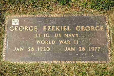 GEORGE GEORGE, EZEKIEL - Richland County, Ohio | EZEKIEL GEORGE GEORGE - Ohio Gravestone Photos