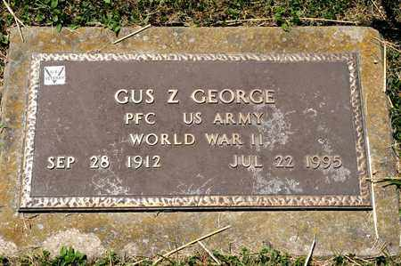 GEORGE, GUS Z - Richland County, Ohio | GUS Z GEORGE - Ohio Gravestone Photos