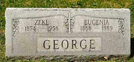GEORGE, ZEKE - Richland County, Ohio | ZEKE GEORGE - Ohio Gravestone Photos