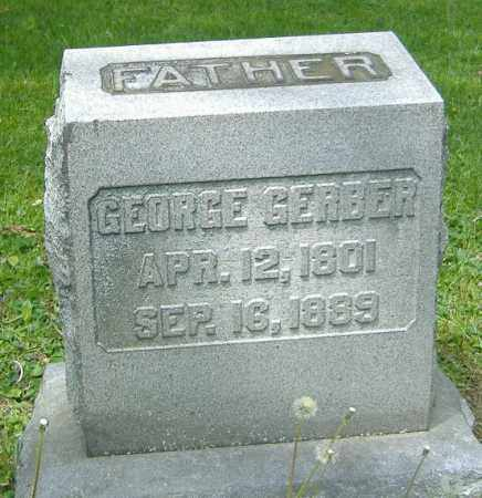 GERBER, GEORGE - Richland County, Ohio | GEORGE GERBER - Ohio Gravestone Photos