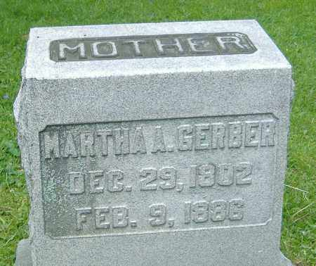 GERBER, MARTHA A. - Richland County, Ohio | MARTHA A. GERBER - Ohio Gravestone Photos