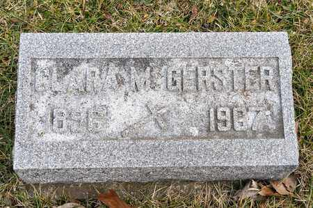 GERSTER, CLARA M - Richland County, Ohio | CLARA M GERSTER - Ohio Gravestone Photos