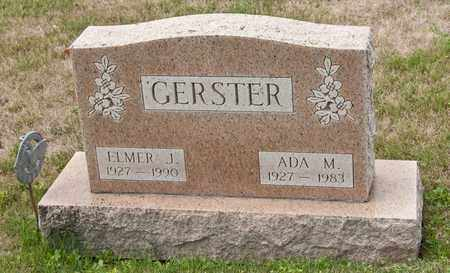 GERSTER, ELMER J - Richland County, Ohio | ELMER J GERSTER - Ohio Gravestone Photos