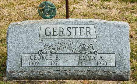 GERSTER, EMMA A - Richland County, Ohio | EMMA A GERSTER - Ohio Gravestone Photos