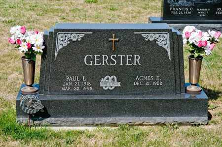 GERSTER, PAUL L - Richland County, Ohio | PAUL L GERSTER - Ohio Gravestone Photos