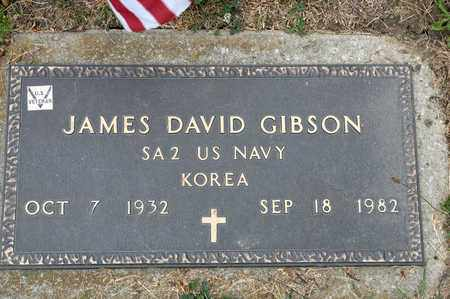 GIBSON, JAMES DAVID - Richland County, Ohio | JAMES DAVID GIBSON - Ohio Gravestone Photos