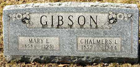 GIBSON, CHALMERS L - Richland County, Ohio | CHALMERS L GIBSON - Ohio Gravestone Photos
