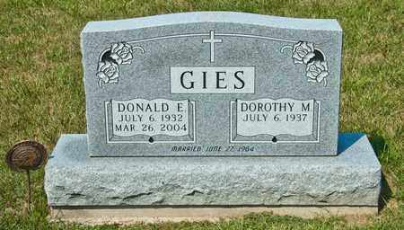GIES, DONALD E - Richland County, Ohio | DONALD E GIES - Ohio Gravestone Photos