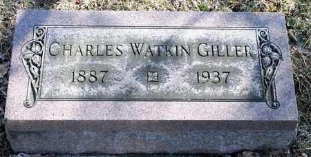 GILLER, CHARLES WATKIN - Richland County, Ohio | CHARLES WATKIN GILLER - Ohio Gravestone Photos