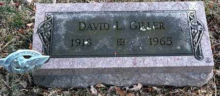 GILLER, DAVID L - Richland County, Ohio | DAVID L GILLER - Ohio Gravestone Photos