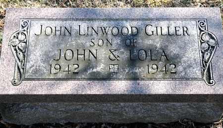 GILLER, JOHN LINWOOD - Richland County, Ohio | JOHN LINWOOD GILLER - Ohio Gravestone Photos