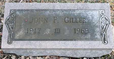 GILLER, JOHN F - Richland County, Ohio | JOHN F GILLER - Ohio Gravestone Photos