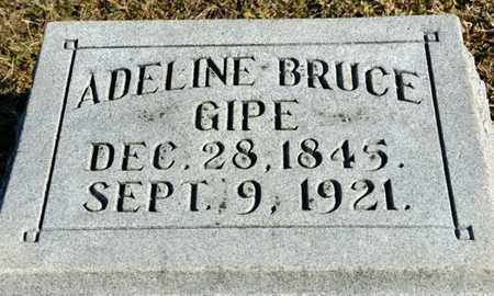 KINGSBOROUGH GIPE, ADELINE BRUCE - Richland County, Ohio | ADELINE BRUCE KINGSBOROUGH GIPE - Ohio Gravestone Photos