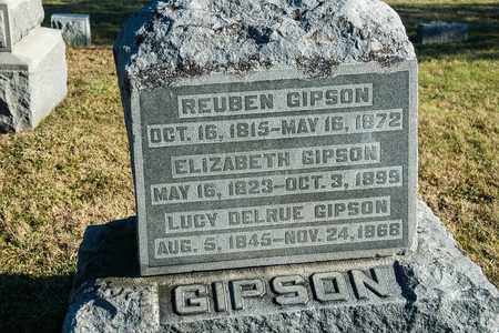 GIPSON, REUBEN - Richland County, Ohio | REUBEN GIPSON - Ohio Gravestone Photos