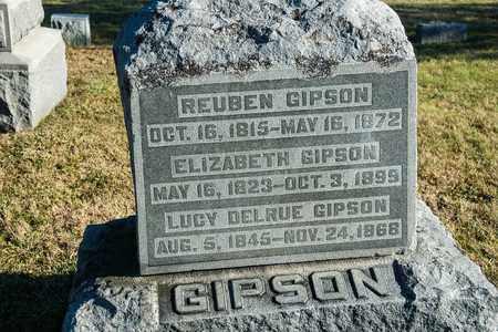 GIPSON, LUCY DELRUE - Richland County, Ohio | LUCY DELRUE GIPSON - Ohio Gravestone Photos