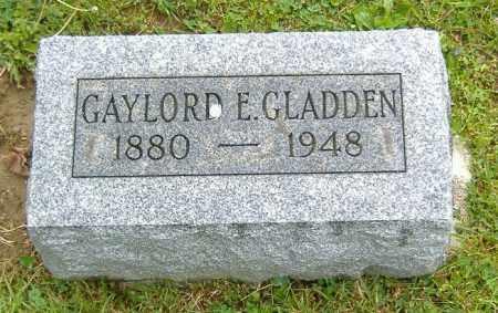 GLADDEN, GAYLORD EUGENE - Richland County, Ohio | GAYLORD EUGENE GLADDEN - Ohio Gravestone Photos