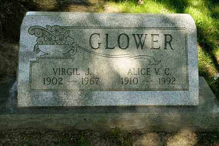 GLOWER, ALICE V C - Richland County, Ohio | ALICE V C GLOWER - Ohio Gravestone Photos
