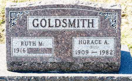 GOLDSMITH, HORACE A - Richland County, Ohio | HORACE A GOLDSMITH - Ohio Gravestone Photos