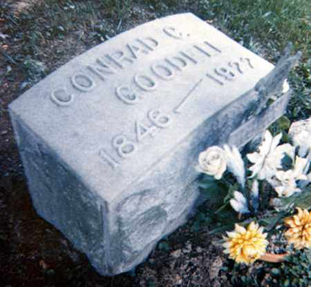 GOODELL, CONRAD C. - Richland County, Ohio | CONRAD C. GOODELL - Ohio Gravestone Photos