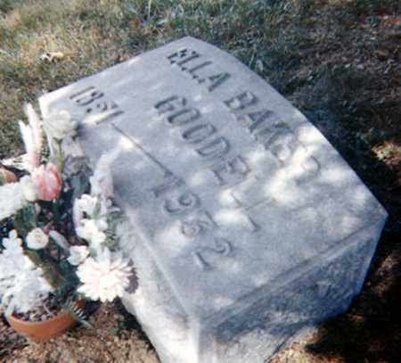 GOODELL, ELLEN - Richland County, Ohio | ELLEN GOODELL - Ohio Gravestone Photos