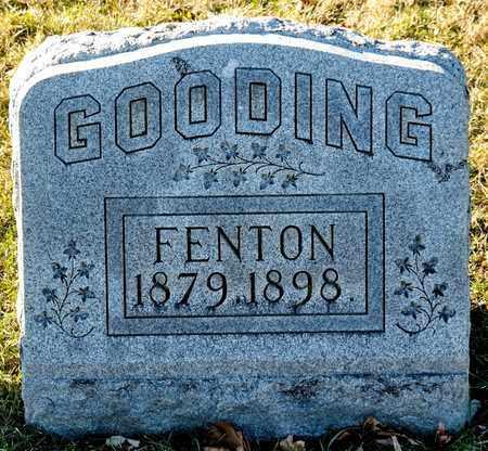 GOODING, FENTON - Richland County, Ohio | FENTON GOODING - Ohio Gravestone Photos