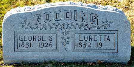 GOODING, GEORGE S - Richland County, Ohio | GEORGE S GOODING - Ohio Gravestone Photos