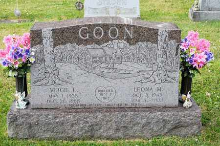 GOON, VIRGIL L - Richland County, Ohio | VIRGIL L GOON - Ohio Gravestone Photos