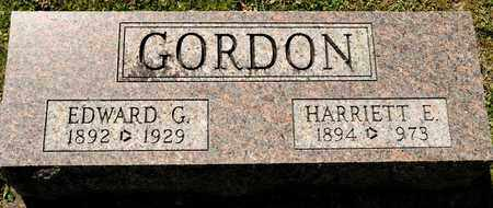 GORDON, EDWARD G - Richland County, Ohio | EDWARD G GORDON - Ohio Gravestone Photos