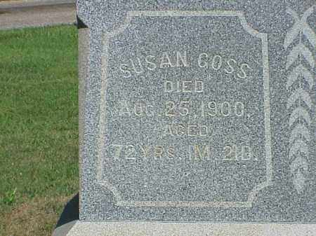 GOSS, SUSAN - Richland County, Ohio | SUSAN GOSS - Ohio Gravestone Photos