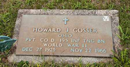 GOSSER, HOWARD J - Richland County, Ohio | HOWARD J GOSSER - Ohio Gravestone Photos