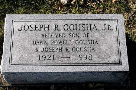 GOUSHA JR, JOSEPH - Richland County, Ohio | JOSEPH GOUSHA JR - Ohio Gravestone Photos