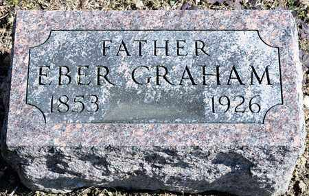 GRAHAM, EBER - Richland County, Ohio | EBER GRAHAM - Ohio Gravestone Photos