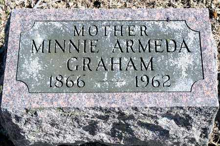 GRAHAM, MINNIE ARMEDA - Richland County, Ohio | MINNIE ARMEDA GRAHAM - Ohio Gravestone Photos